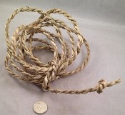Twisted Palm Rope - Natural - 10ft