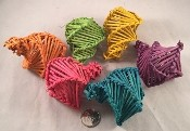 Vine Fortune Cookies - Coloured - 24pc - BULK