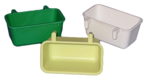 Rectangle Feeder with Plastic Hooks