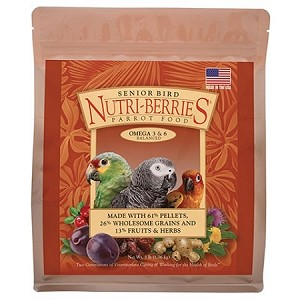 Senior Bird Nutri-Berries - Parrot - 3lb