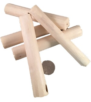 "Super Soft Sola Sticks - 4"" - Natural - 24pc - BULK"